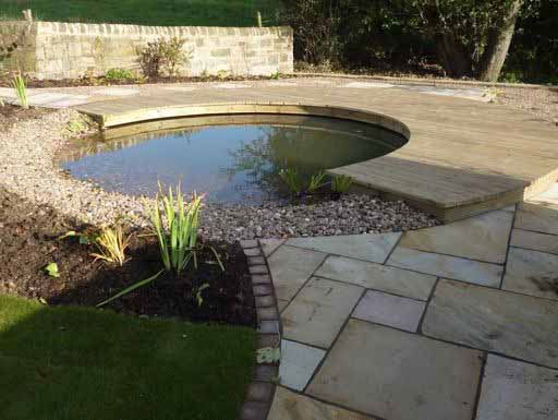 Circular Pond