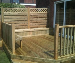 Fence and Decking